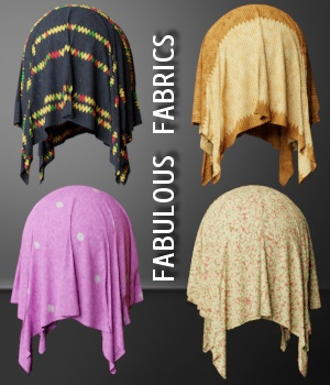 Fabulous Fabrics - Extended License 2D Graphics Merchant Resources Extended Licenses RubiconDigital