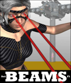 Make It Yourself Sci-Fi BEAMS for Daz Studio 4 Tutorials : Learn 3D Winterbrose