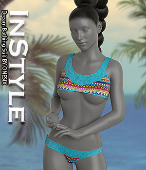 InStyle - Dream Bathing Suit 3D Figure Assets -Valkyrie-