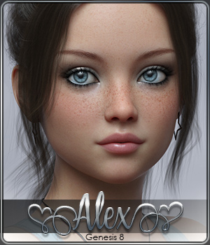 SASE Alex for Genesis 8 3D Figure Assets Sabby