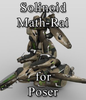 Solinoid Math-Rai for Poser 3D Models VanishingPoint