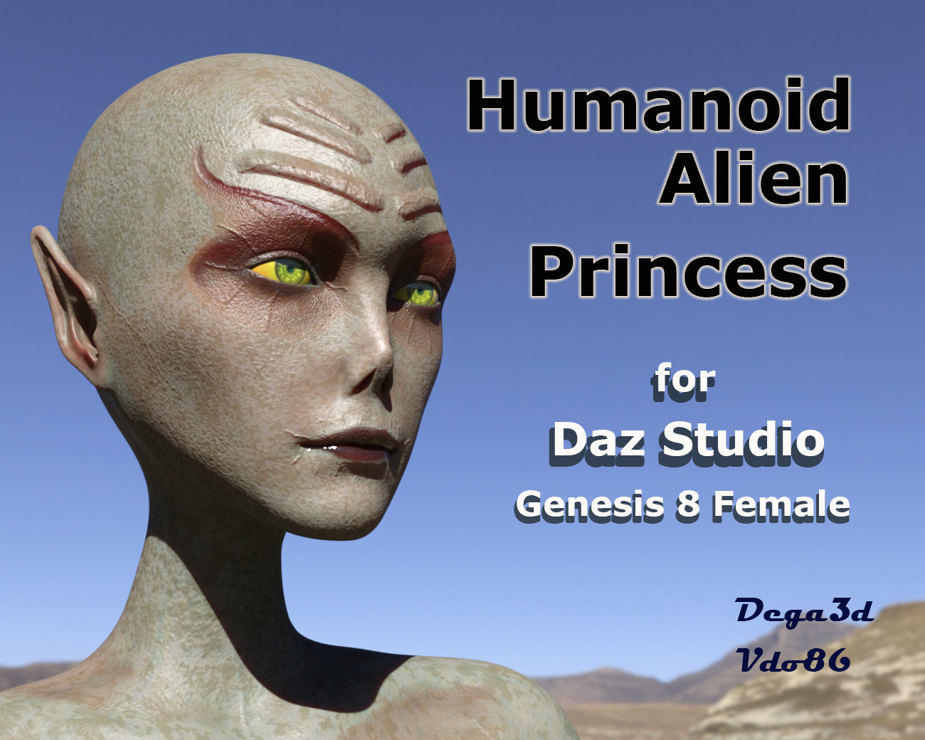 Humanoid Alien Princess