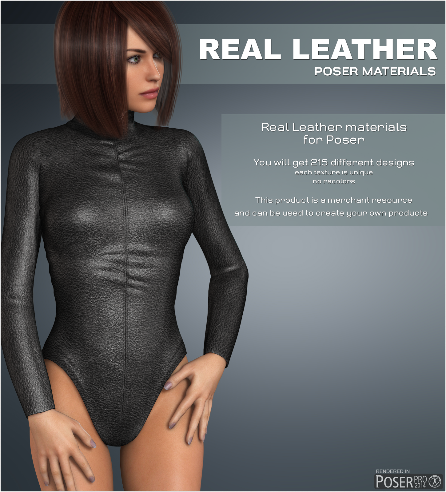 Poser - Real Leather