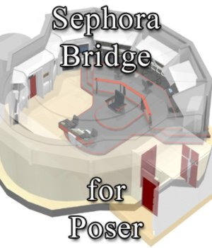 Sephora Bridge for Poser 3D Models VanishingPoint
