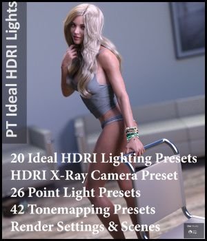 Paper Tiger's Ideal HDRI Lights 3D Lighting : Cameras PaperTiger