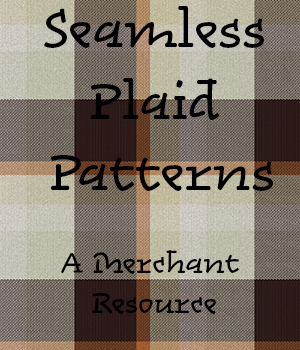 Seamless Plaid Patterns 2D Graphics Merchant Resources adarling97