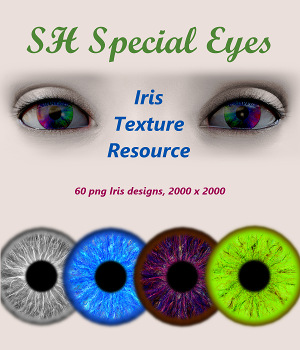 SH Special Eyes Iris Texture Resource