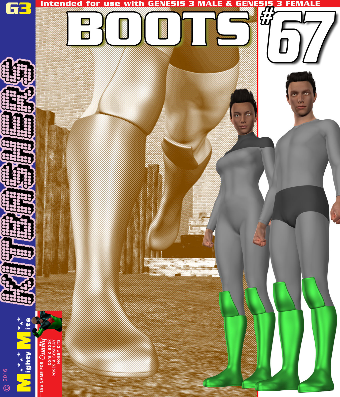 Boots 067 MMKBG3 by MightyMite