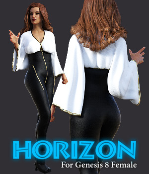 Horizon for G8F 3D Figure Assets powerage
