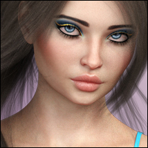 Twizted Curvy Models for Genesis 8 Female image 2