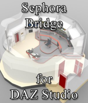 Sephora Bridge for DAZ Studio 3D Models VanishingPoint