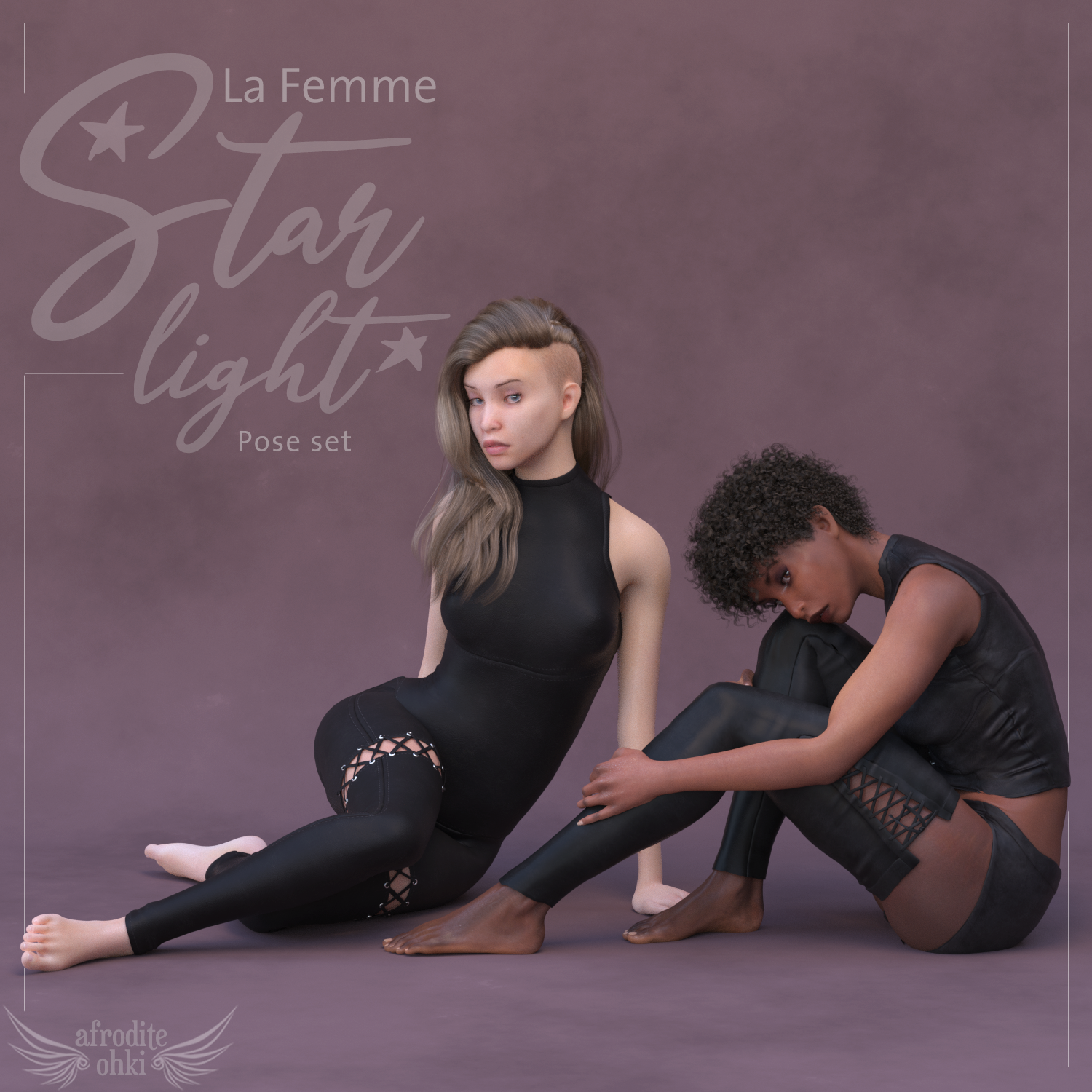 Starlight Poses for La Femme  by Afrodite-Ohki