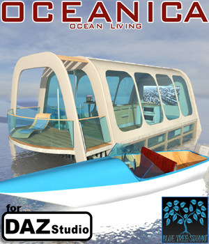 Oceanica for Daz Studio 3D Models BlueTreeStudio
