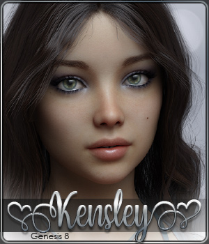 SASE Kensley for Genesis 8 3D Figure Assets Sabby