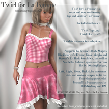 Twirl Outfit for La Femme image 1