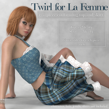 Twirl Outfit for La Femme image 2
