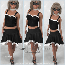 Twirl Outfit for La Femme image 4