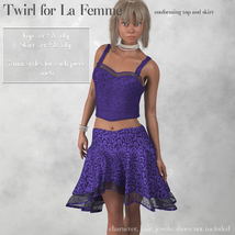 Twirl Outfit for La Femme image 5