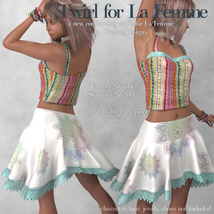 Twirl Outfit for La Femme image 6