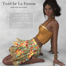 Twirl Outfit for La Femme image 8