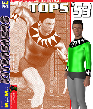Tops 053 MMKBG3M 3D Figure Assets MightyMite