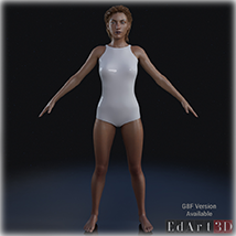 Universal Swimsuit Mesh for G3F - Content Creator MR image 5
