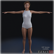 Universal Swimsuit Mesh for G8F - Content Creator MR image 5