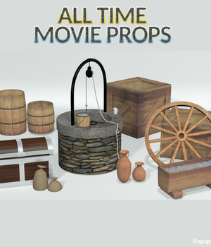 All Time Movie Props 3D Models apcgraficos