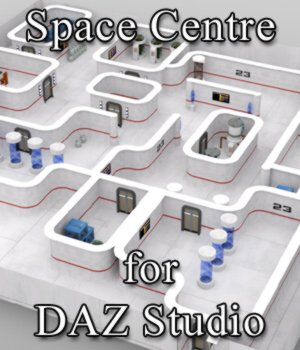Space Centre for DAZ Studio 3D Models VanishingPoint