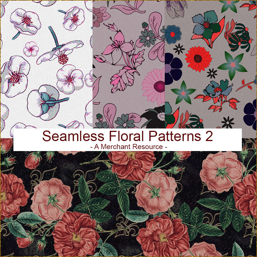 Seamless Floral Patterns 2