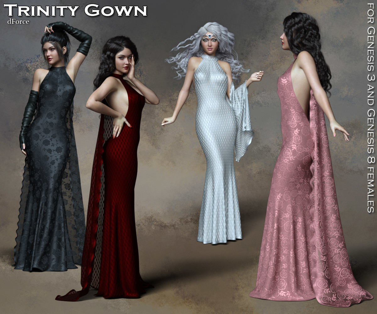 Trinity dForce Gown