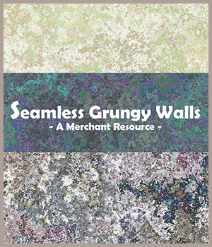 Seamless Grungy Walls 2D Graphics Merchant Resources adarling97