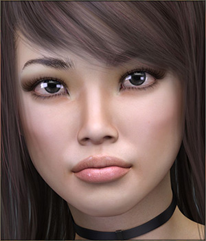 TDT-Aisa for Genesis 8 Female 3D Figure Assets Deva3D
