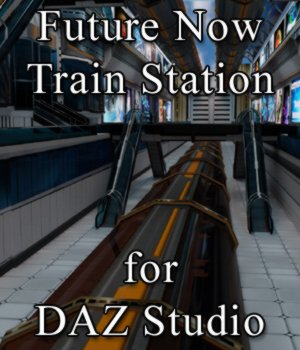 Future Now Train Station for DAZ Studio 3D Models VanishingPoint