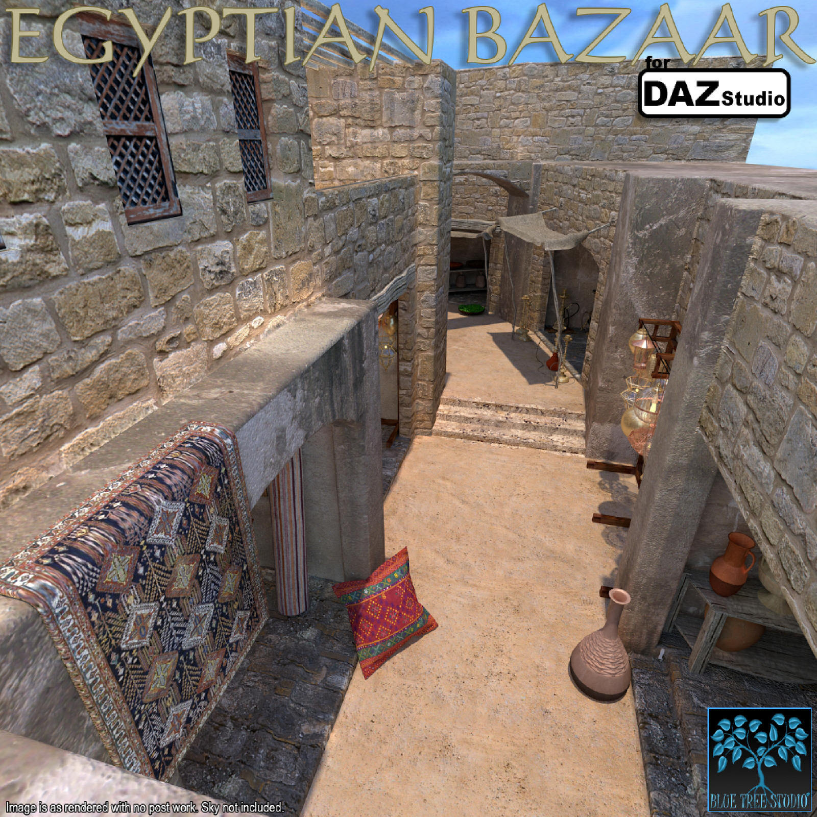 Egyptian Bazaar for Daz