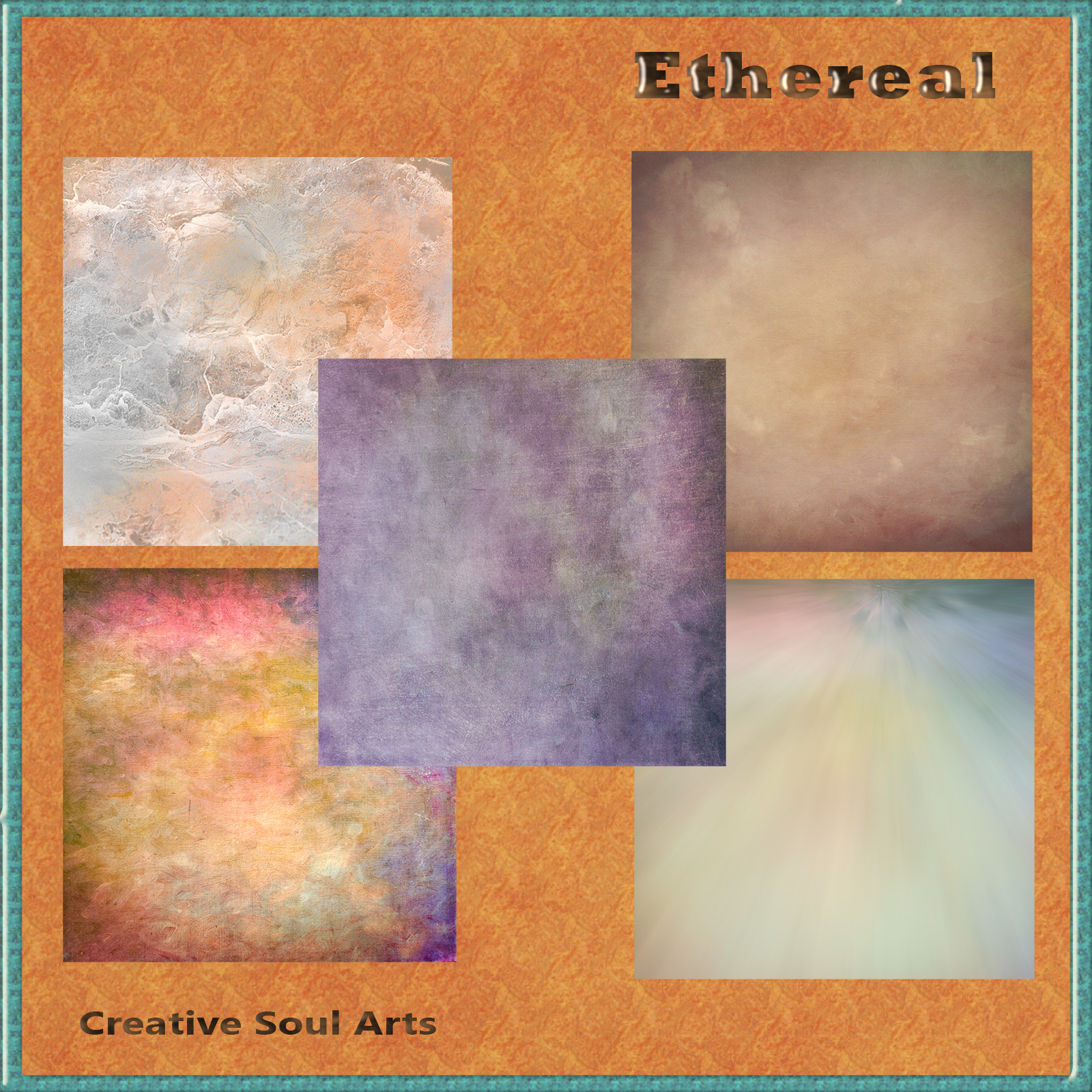 CSA Digital Backgrounds Backdrops Textures: Ethereal