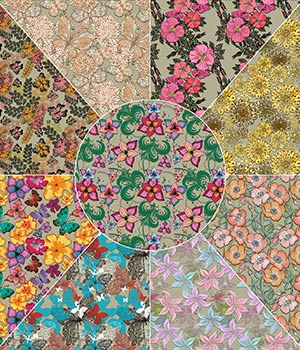 Floral Overlays 2D Graphics Merchant Resources Atenais