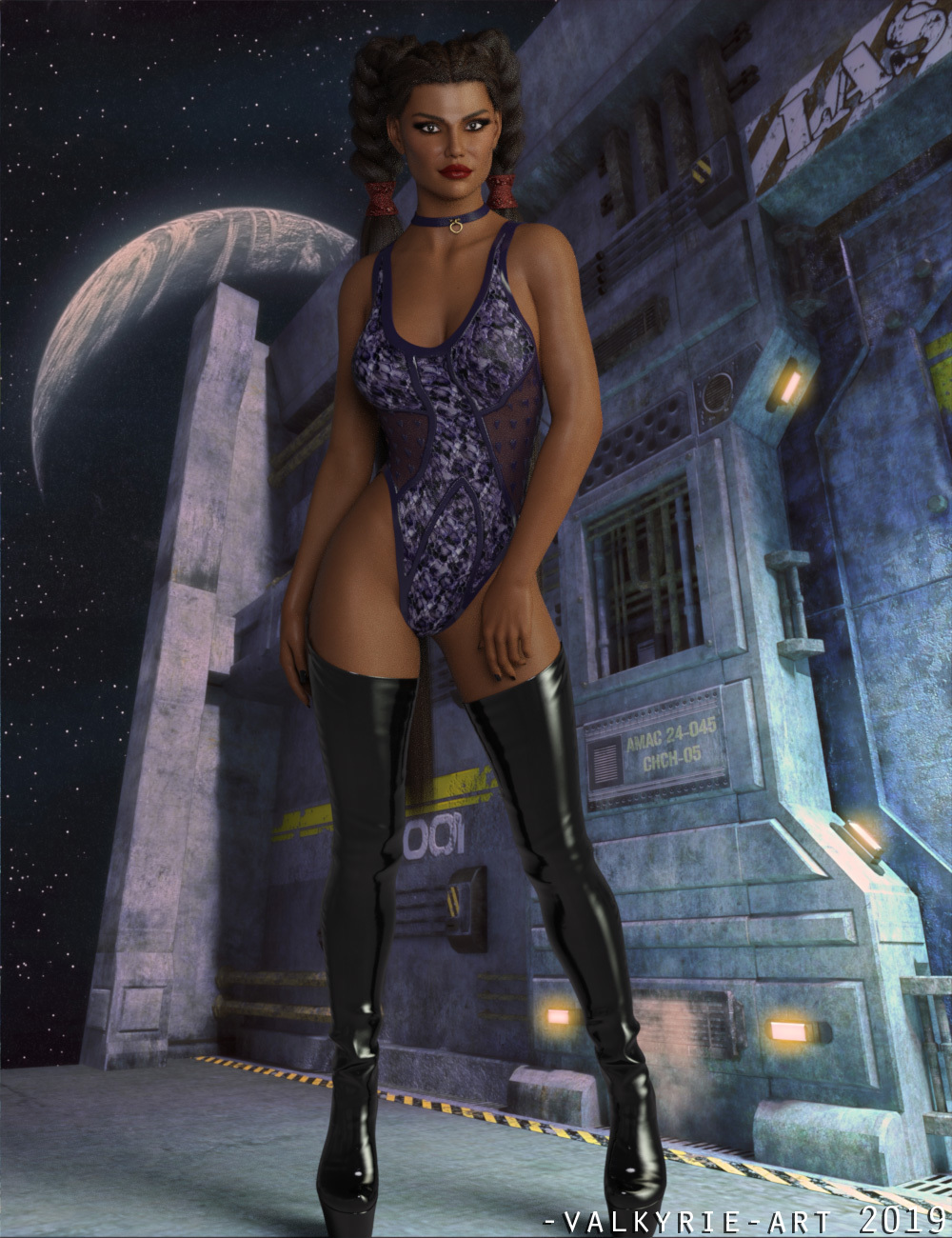 InStyle - X-Fashion Legend Leather Bodysuit for Genesis 8 Female(s)