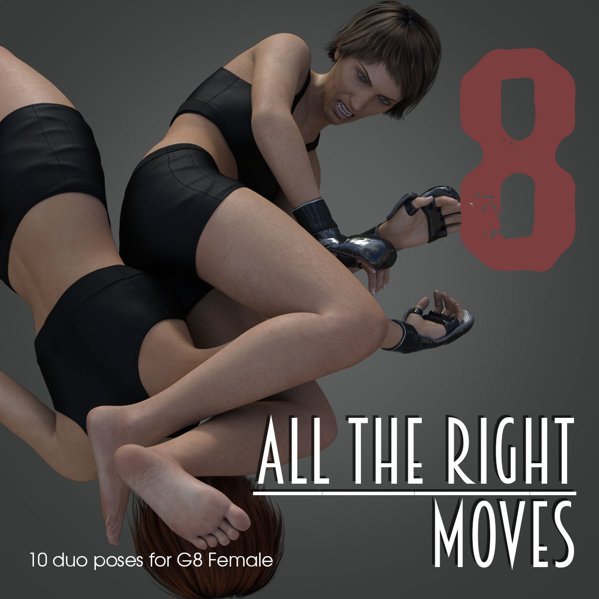 ALL THE RIGHT MOVES vol.8 for Genesis 8 Female