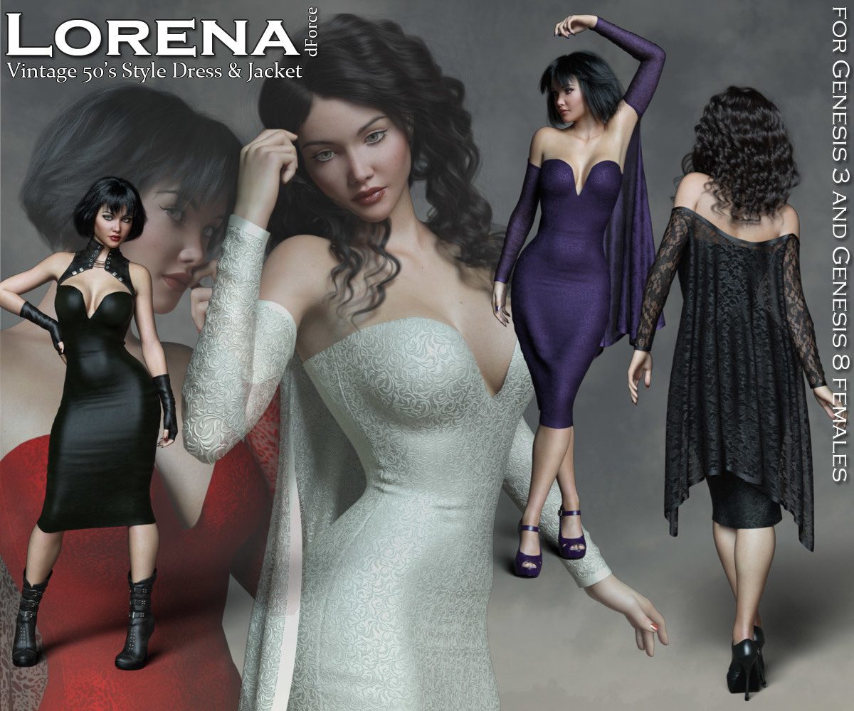 Lorena dForce Dress and Jacket by Rhiannon