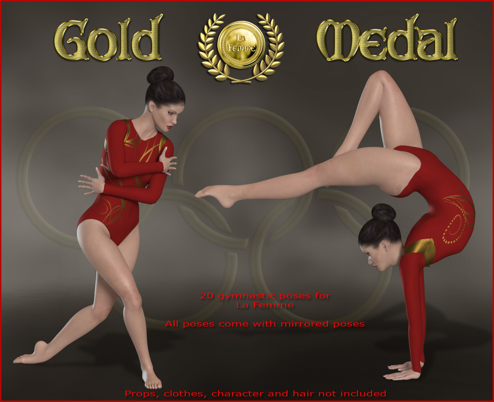 Gold Medal for La Femme by RPublishing