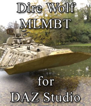 Dire Wolf MLMBT for DAZ Studio 3D Models VanishingPoint
