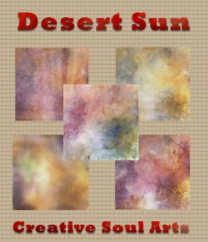 CSA Digital Backgrounds Backdrops Textures Desert Sun 2D Graphics Merchant Resources CreativeSoulArts