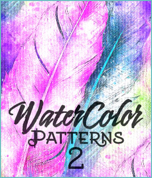 Seamless Watercolor Patterns 2 2D Graphics Merchant Resources adarling97