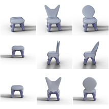 Toon Morphing Chair and Table image 2