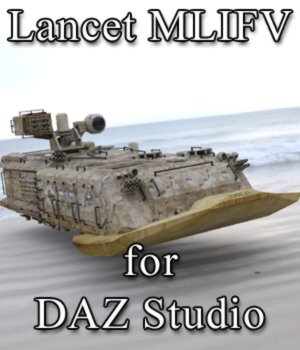 Lancet MLIFV for DAZ Studio 3D Models VanishingPoint