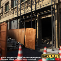 Back Alley Core Package for DS Iray image 2