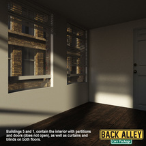 Back Alley Core Package for DS Iray image 4