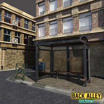 Back Alley Core Package for DS Iray image 6