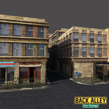 Back Alley Core Package for DS Iray image 7